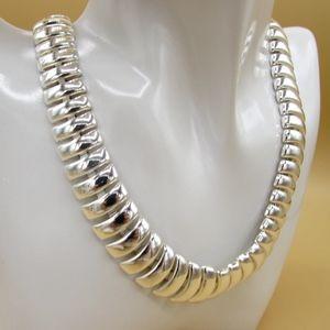 Napier Silvertone Necklace